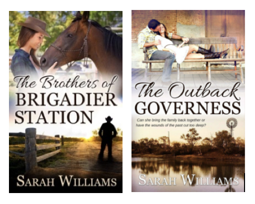 Sarah Williams The Outback Governess and Brothers Of Brigadier Station