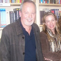 Michael Robotham and Karyn Wood