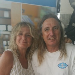 Annie and Tim Winton