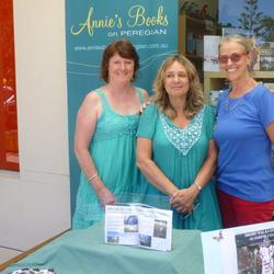 Sunshine Coast Bushwalks authors Claudia Williams, Elizabeth Vacher & Heather Powell
