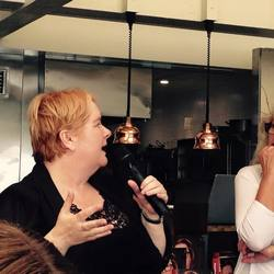 Annie and Magda - literary lunch with Magda Szubanski talking about her new memoir Reckoning